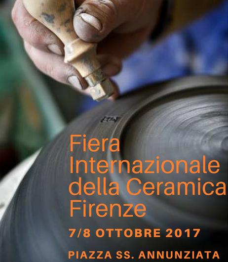 Fiera Internazionale della CeramicaFirenze 7 e 8 ottobre 2017